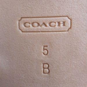 coach Shoes - coach sandals